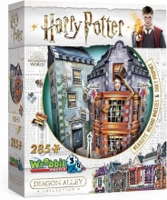 W3d-0511,Puzzel harry potter weasleys wizard wheezes - puzzel - wrebbit 3d puzzel - 285