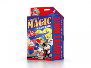 Mar-mme3012,Marvin`s magic made easy - 30 magic tricks - rood