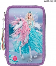 ,Fantasy model 3-vaks etui led icefriends